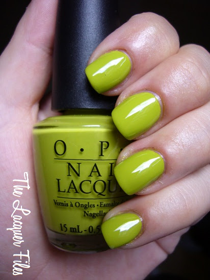 OPI Who the Shrek Are You? Shrek Forever After Collection Shrek Colour creme