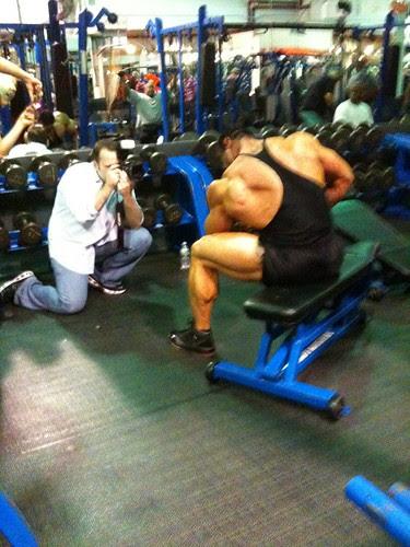 Promo photos at Steel Gym