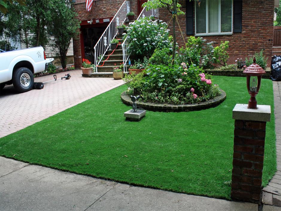 Artificial Grass Carpet Falling Water Tennessee Front Yard Landscape Ideas