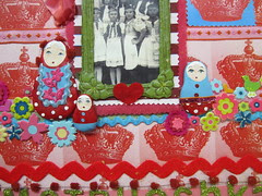 Matryoshka Scrapbook Layout! 2