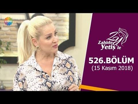 Zahide Yetiş'le 527. Bölüm 19 Kasim 2018 Tek Parça Full HD İzle