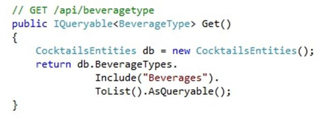 IQueryable version of the code