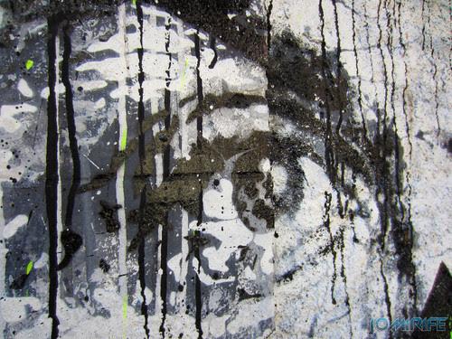 Arte Urbana by Samina - Caras a preto e branco na Figueira da Foz Portugal - Olho (4) [en] Urban art by Samina - Faces in Black and White in Figueira da Foz, Portugal