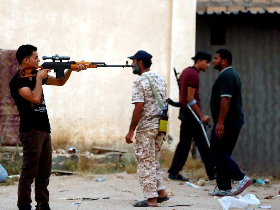 Enfrentamientos entre milicias libias