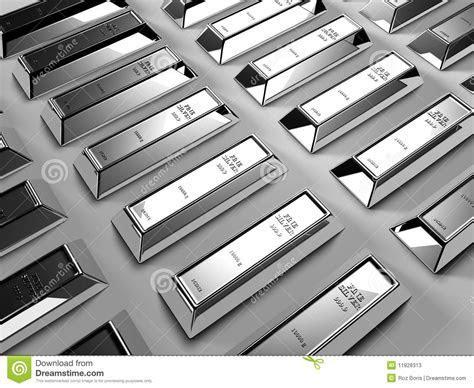 Silver Bars Stock Photos   Image: 11928313