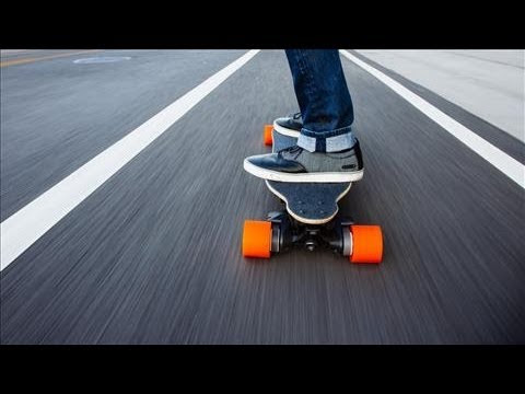 Electric Skateboards Hit the Road  YouTube