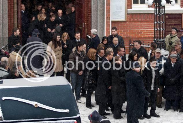 Prosesi pemakaman anak bos mafia
