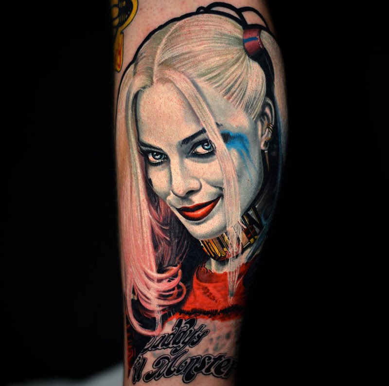 Harley Quinn From Suicide Squad Best Tattoo Design Ideas