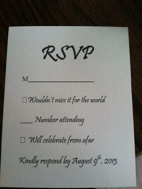 18 best RSVP Inspiration images on Pinterest   Wedding