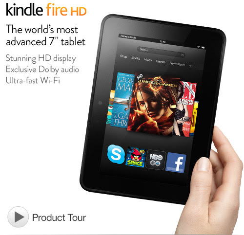 Kindle Fire HD 7""