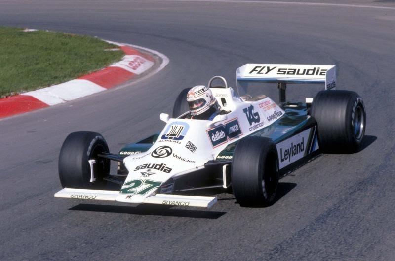 1° Puntata: Stagione 1980 - Williams Ford FW07B e Motore Turbo Ferrari