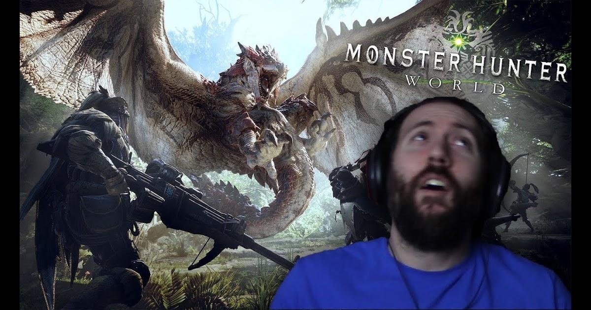 foodybum: GIANT MONSTERS BEWARE! | Monster Hunter World BETA Part 1
