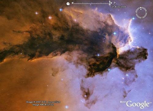 谷歌虚拟太空望远镜最壮观宇宙照片(组图)(3)