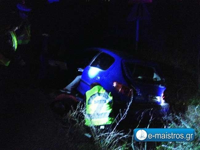 Τροχαίο ατύχημα στη γέφυρα του Αχελώου