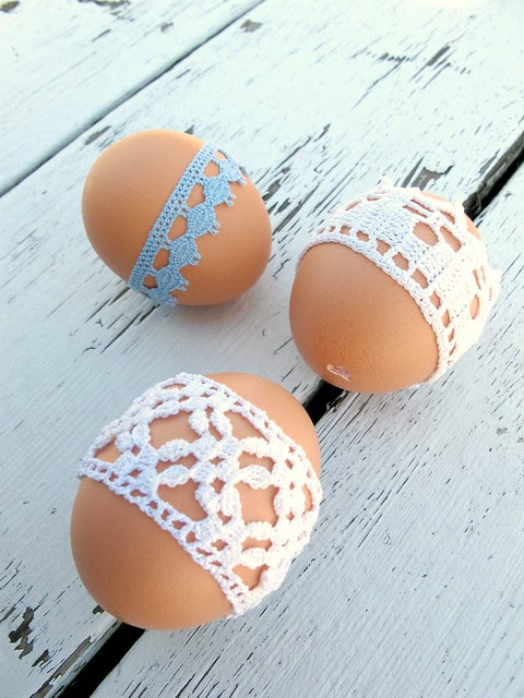 lace and eggs