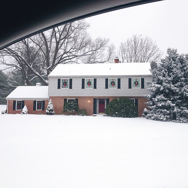 Such a joyful blessing after a long difficult week... #firstsnow, #1000gifts