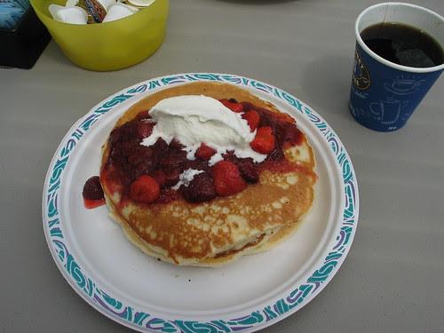 Pancakes @ Rose's