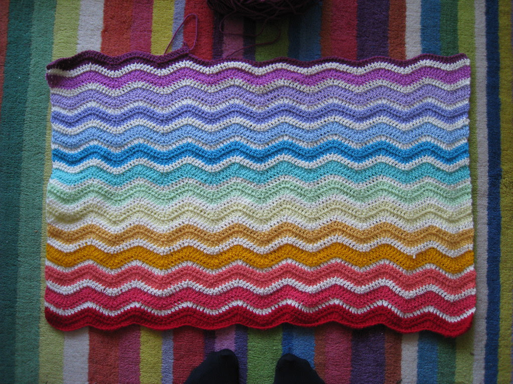 Bubble Gum Ripple Blanket