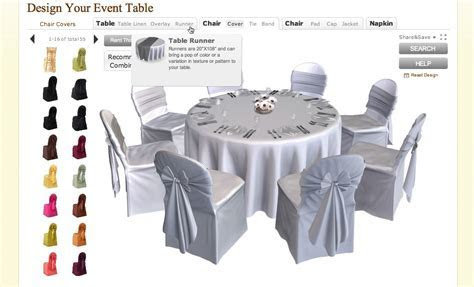 Creative Wedding Planning Tool: Online Table Designer