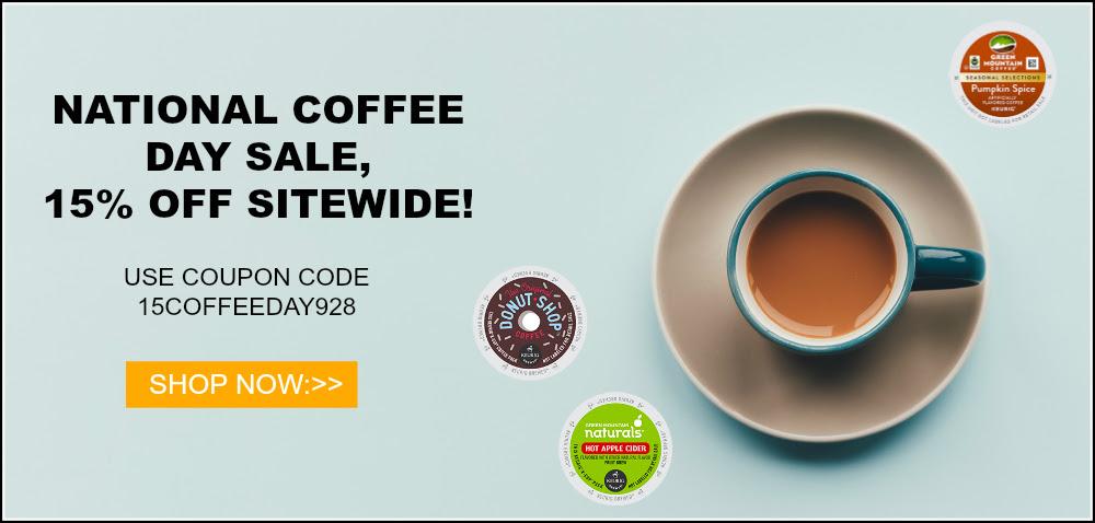 National Coffee Day sale