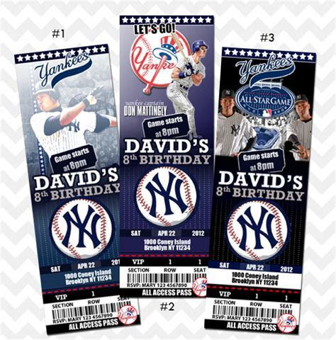 New York Yankees Invitation on Storenvy