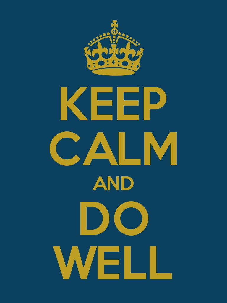 Keep Calm And Do Well Top Achievers Programme