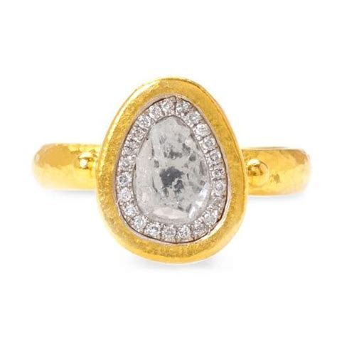 Gurhan Diamond Slice Ring in 24k Yellow Gold, $4675 at