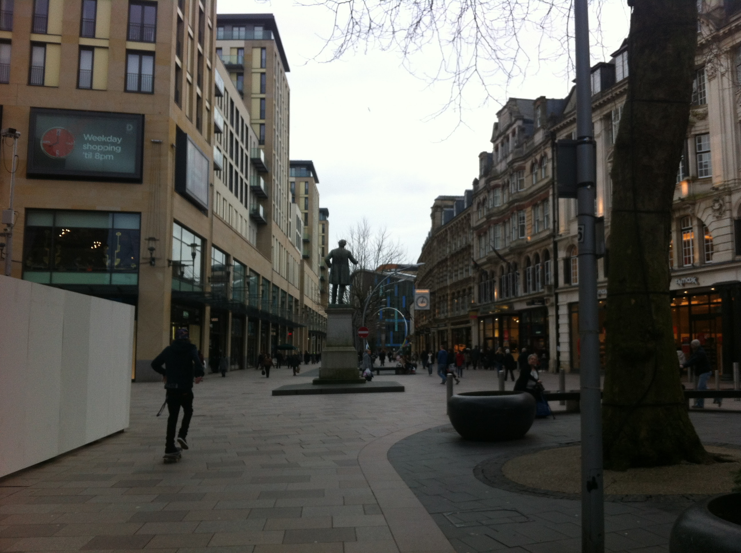 One of my favourite places to shop. Skateboarder is a perfect addition to the pic
