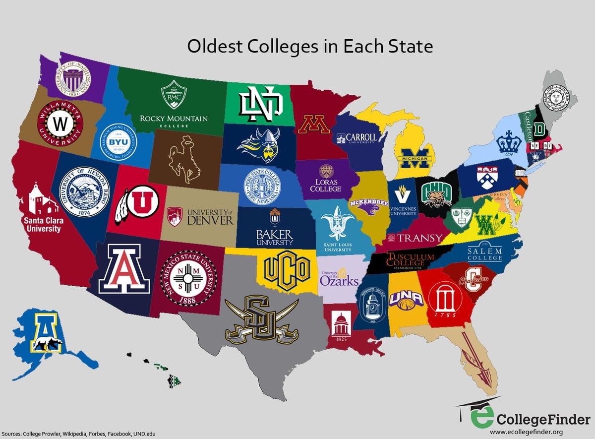 US College and University Land Grant Map – grameentour.com