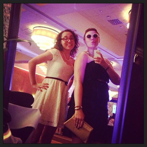 Trying on @bonlook glasses with @zoe_m4 #bonlooktxsc #txsc13