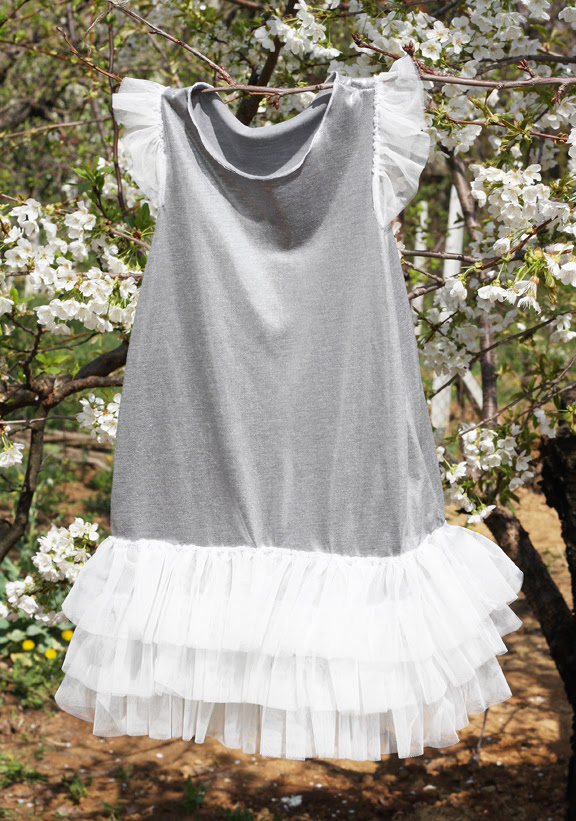 whitish spring dresses