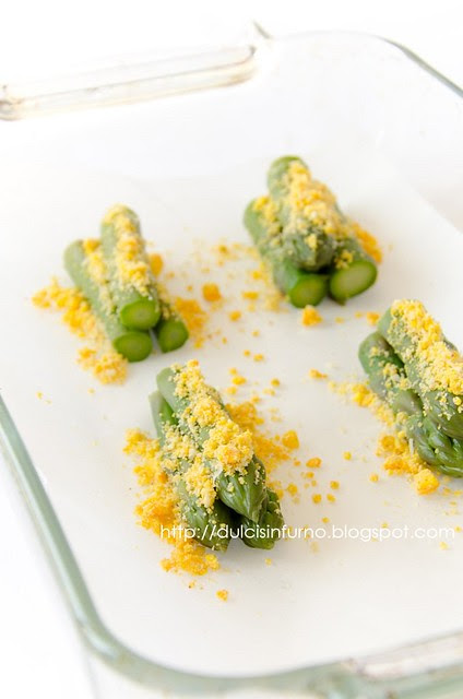 Asparagi e Uova al Gratin-Egg and Asparagus Gratin