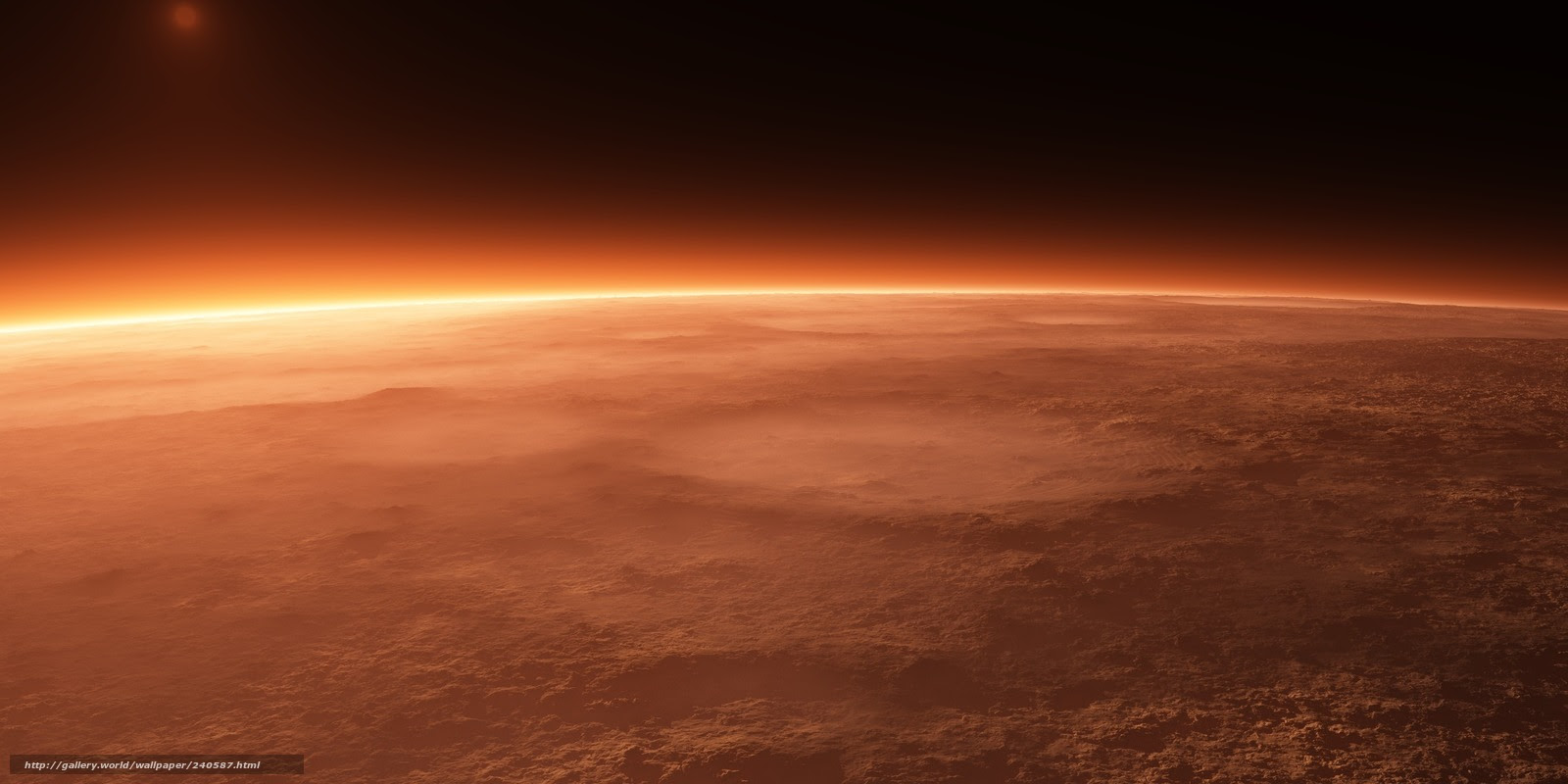 下载壁纸火星 表面 灰尘 火山口免费为您的桌面分辨率的壁纸