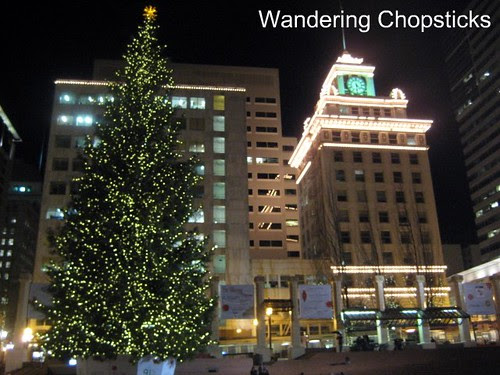 Christmas at Pioneer Courthouse Square - Portland - Oregon