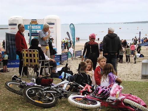 Ocean Swim Bikers
