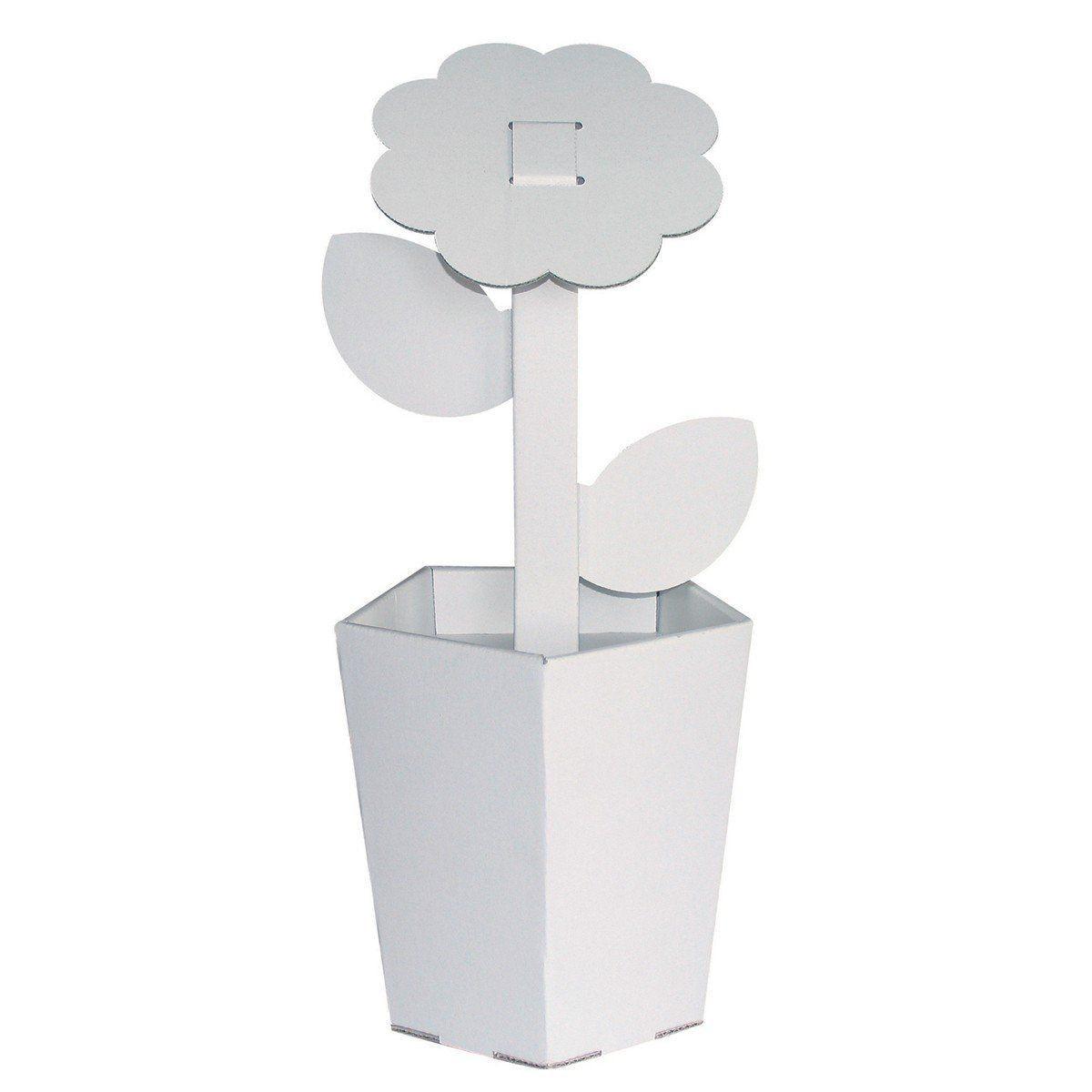 Kit Pliage Et Coloriage Pot De Fleur à Partir De 3 Ans Sebio