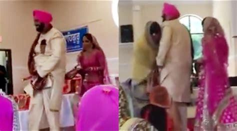 Watch Video: Punjabi Groom's Pyjama Falls During Wedding