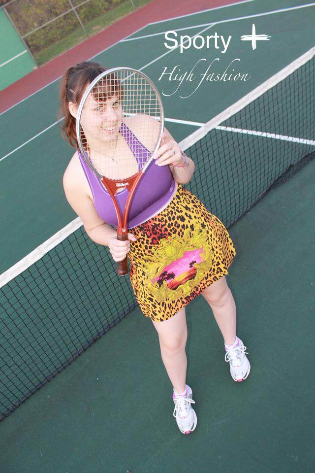 Sporty + High Fashion