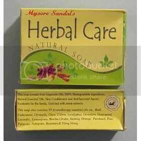 Mysore Sandal Herbal Care Soap