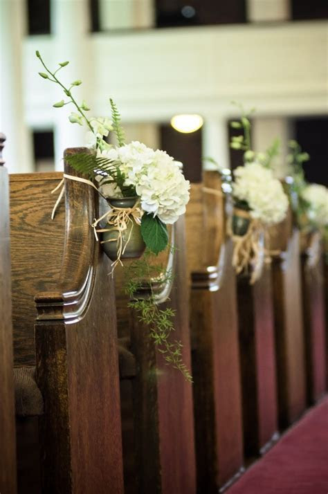 195 best Wedding Decor: Pretty Pews images on Pinterest