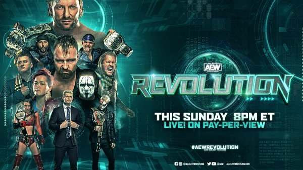Watch AEW Revolution PPV 2021 Live 3/7/21 March 7th 2021 Online Full Show Free
