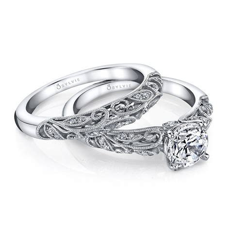 Diamond Engagement Rings & Wedding Bands   Sylvie Collection