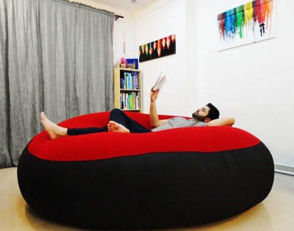 мягкий диван-мешок