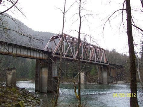 bridgehuntercom bnsf skykomish river bridge