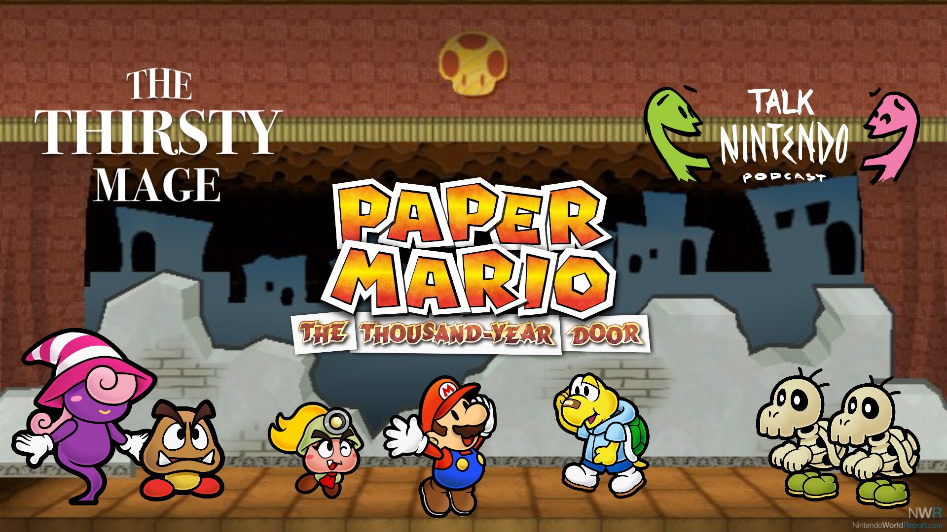 The Thirsty Mage Paper Mario And Slamming The Thousand Year Door