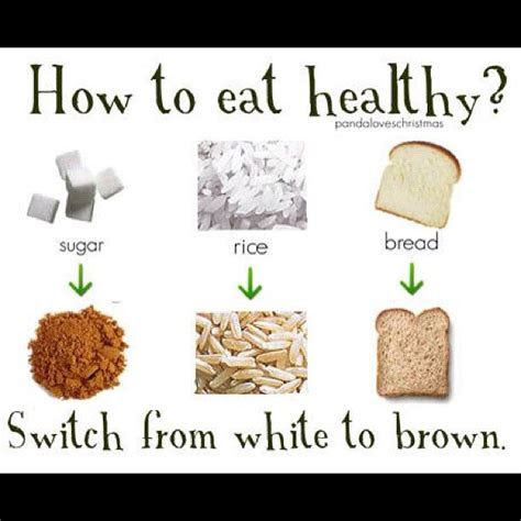 health benefits  brown rice  white rice eathealthy