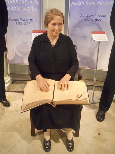 Helen Keller - Museo Madame Tussauds de Nueva York, E.E. U.U.