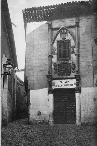 Posada de la Hermandad en el siglo XIX. Fotografía de Jean Laurent. Archivo Ruiz Vernacci