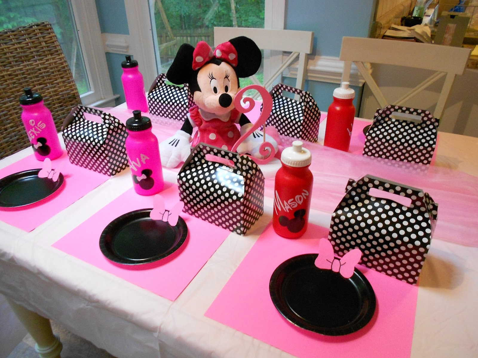 Minnie Mouse Birthday Party Decorations Ideas Elitflat