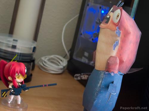 Alien Miner Robot and Insectosaurus
